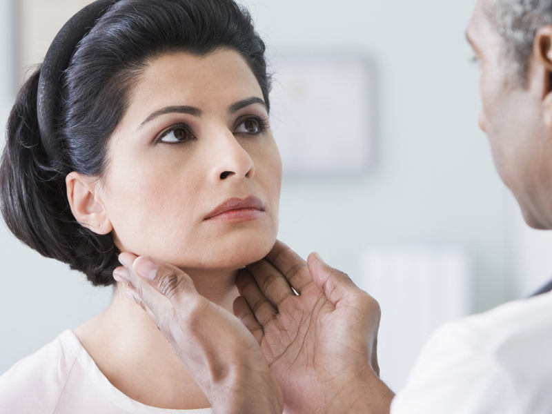 how problem of thyroid is connected with sexually transmitted disease