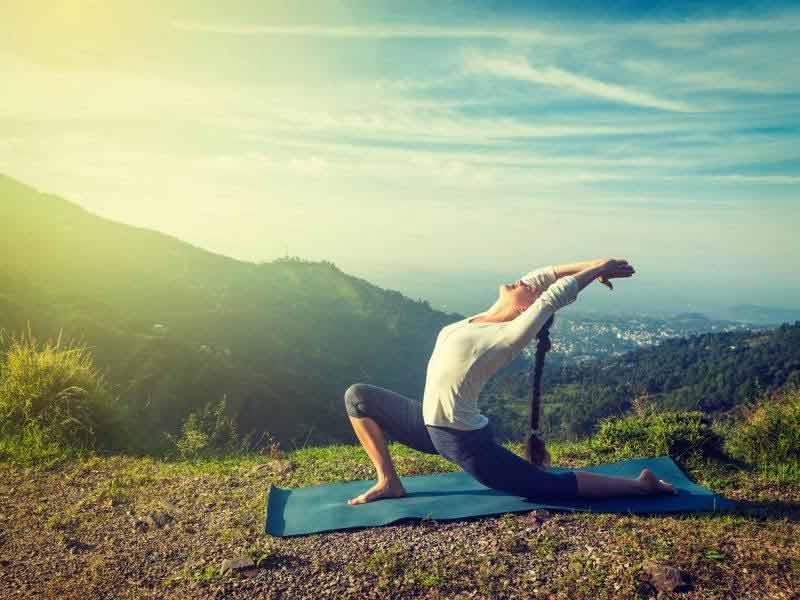 How yoga can be a stress buster