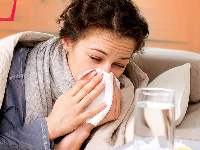 Get rid of Cold and Flu at home with these amazing tips