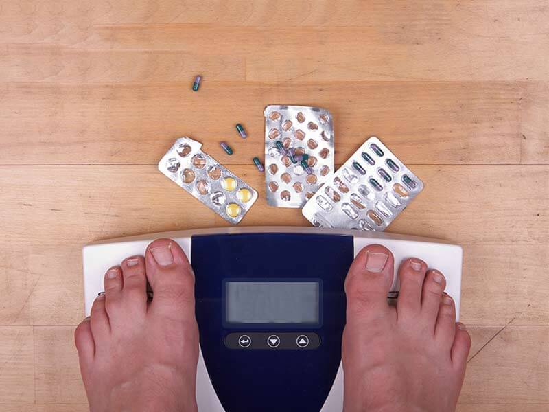 What are the side effects of weight loss pills