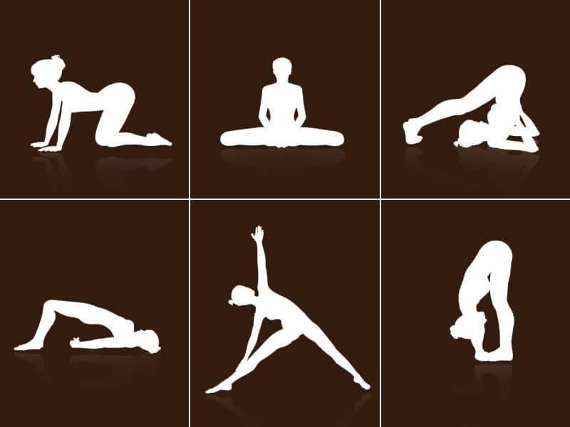 Easy yoga exercises which one can practice everyday