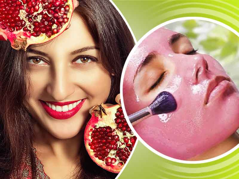 Homemade Pomegranate Face Packs for Flawless Skin