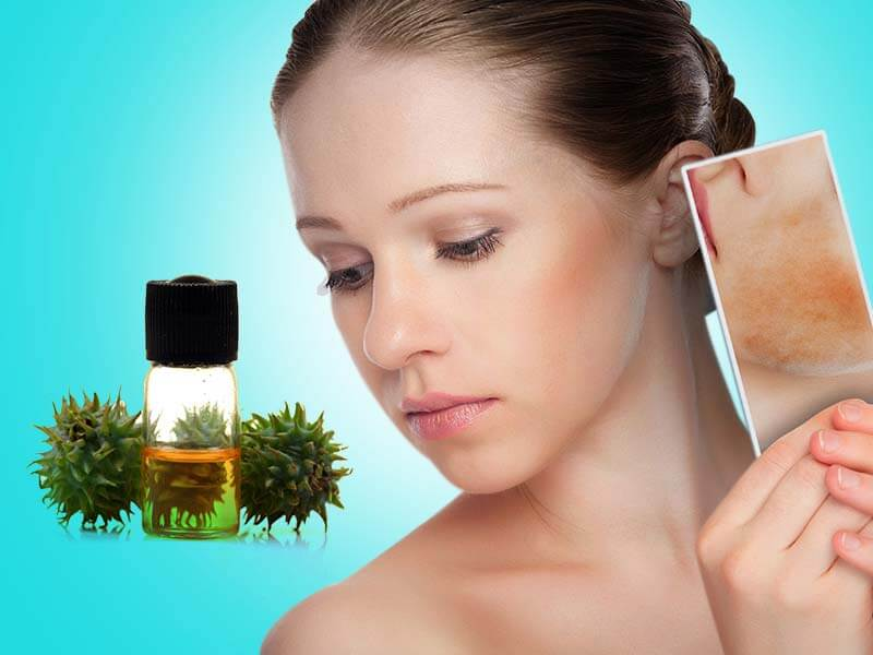 How castor oil useful for skin and hair