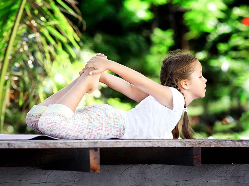 How yoga can be beneficial for kids
