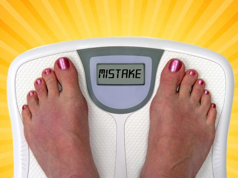 Common mistakes people do while trying to lose weight