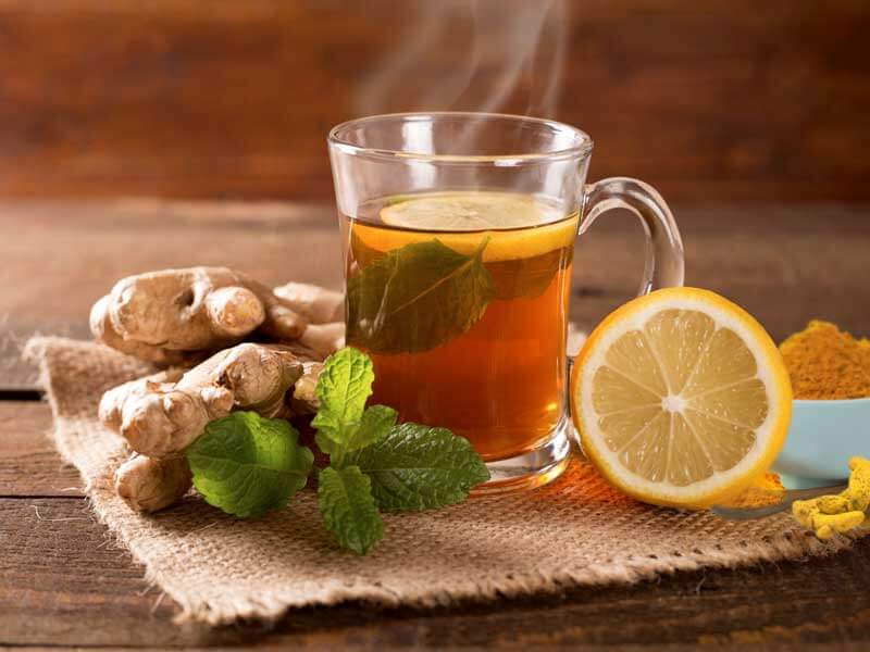 How ginger,lemon and turmeric tea detoxifies your liver