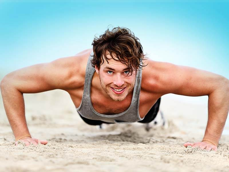 how to build chest muscles with push ups