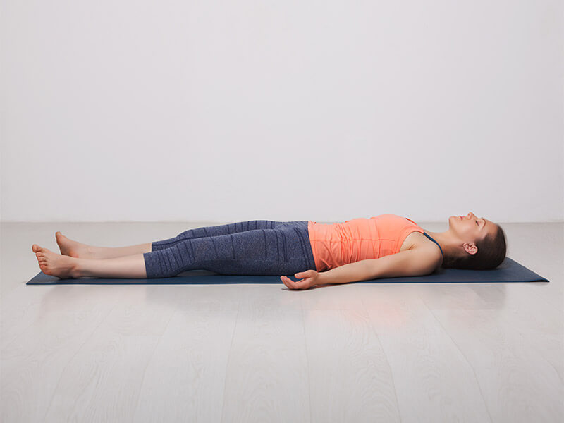 Restorative Yoga will make you healthy in a easy way asr