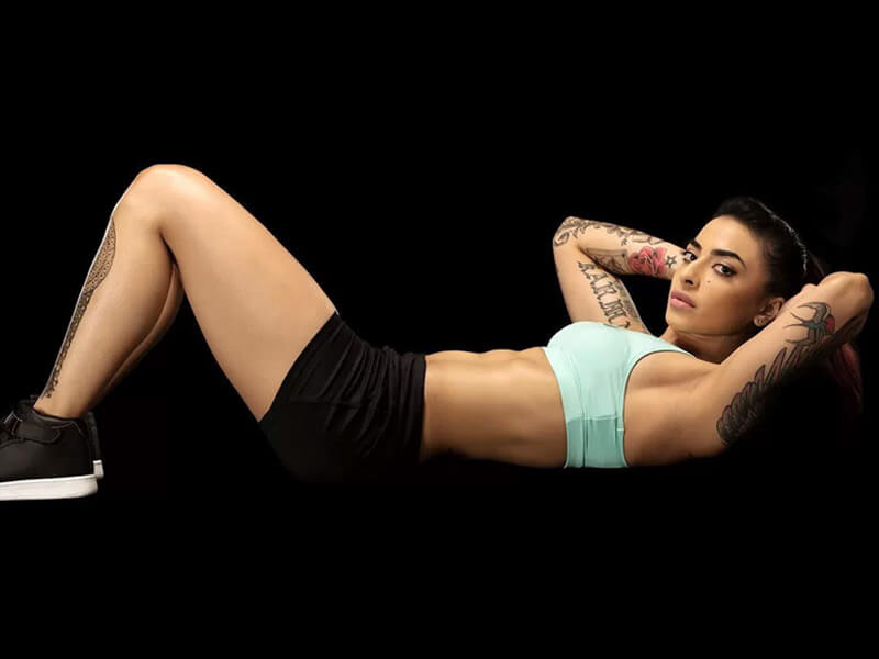 how to get muscular and toned body like vj bani