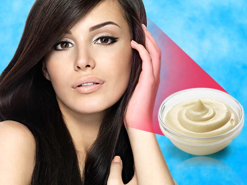 Why should you wash your hair with mayonnaise