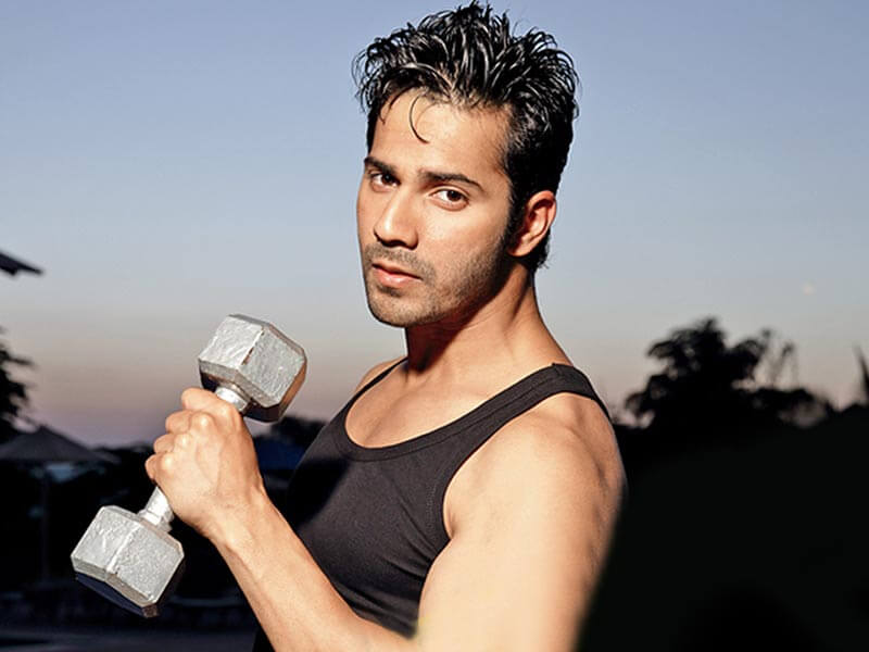 varun dhawan's amazing workout routine