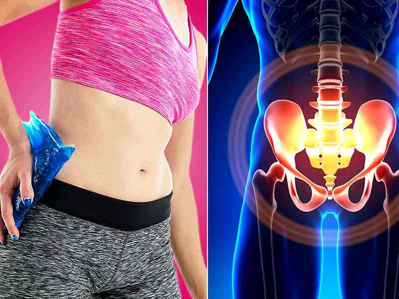What are the causes of hip pain in women