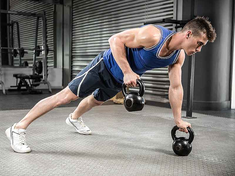 kettlebell workout for muscles growth and strength