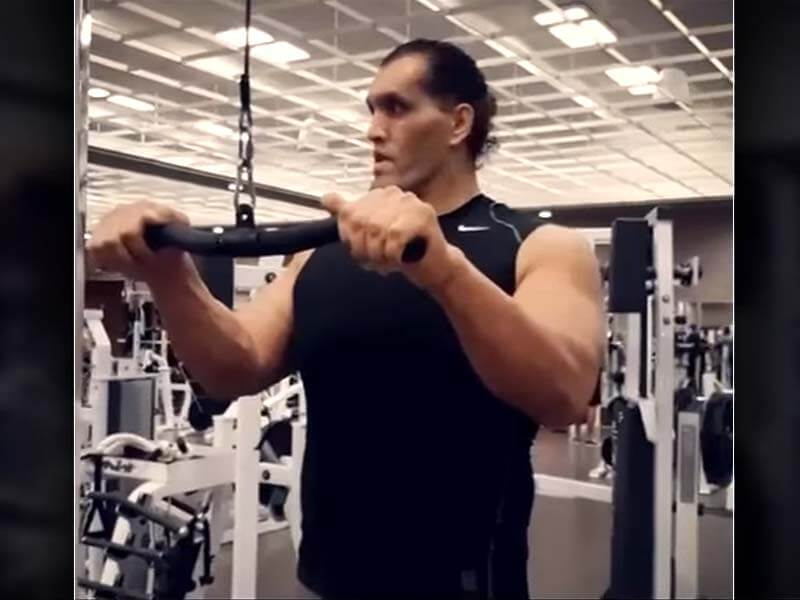 wwe superstar the great khali's effective workout routine