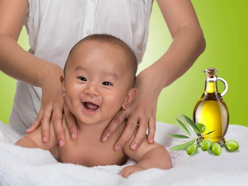 What Is The Benefit Of Using Olive Oil To The Baby