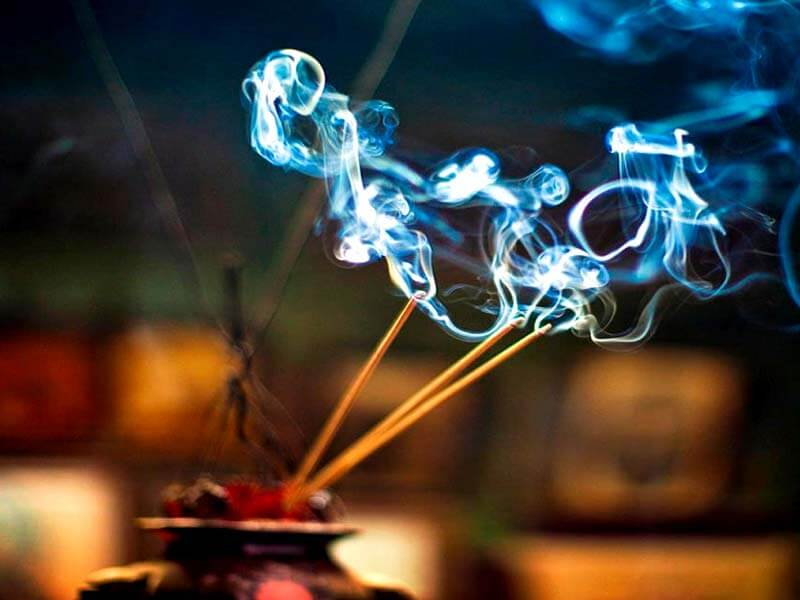 side effects to burning incense- sticks
