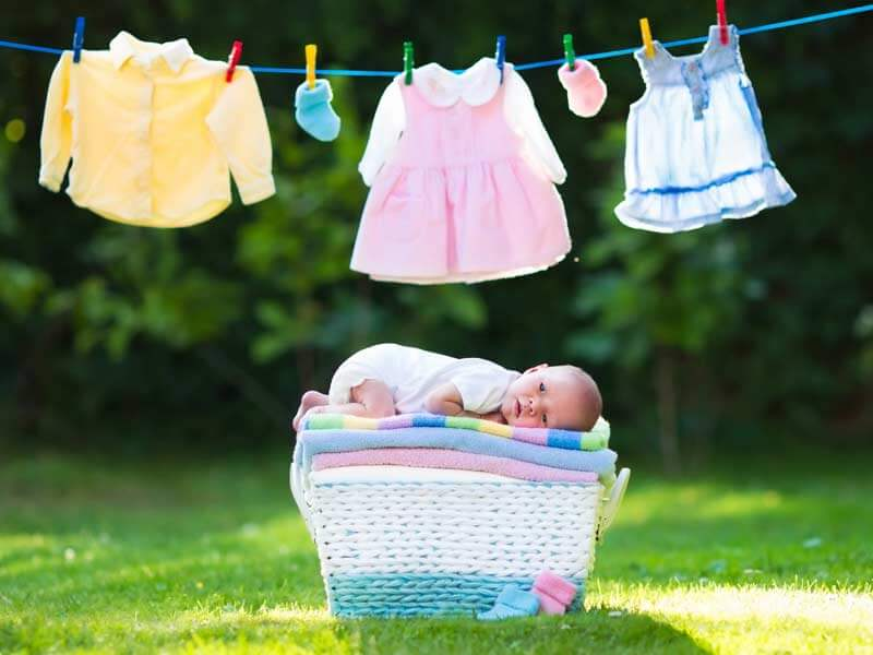 Unless you relish the thought of hand-washing a lot of baby clothes and frequently replacing those that don't hold up well, we suggest you give some serious thought to the durability and washability of the baby clothes you buy—especially your baby's everyday outfits, Onesies, and sleepers.