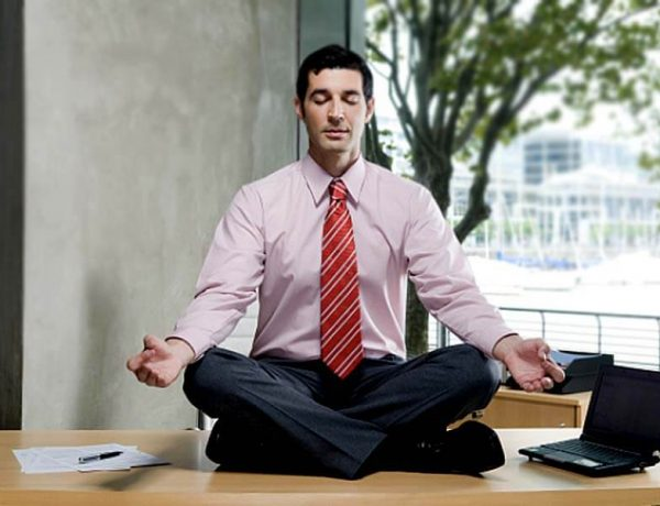Which yoga postures can help to remove the fatigue in the office