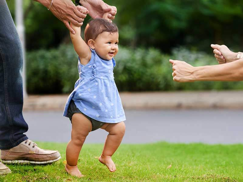 How To Help Your Baby To Stand and Walk By Their Own