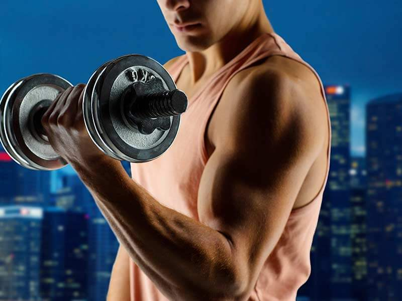 superset workout to build-massive biceps and triceps