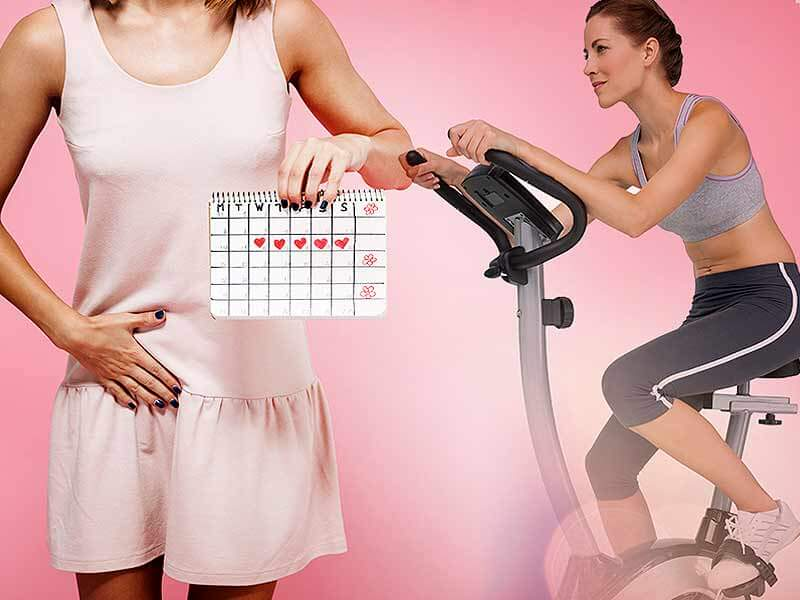 health effects when you exercise during periods