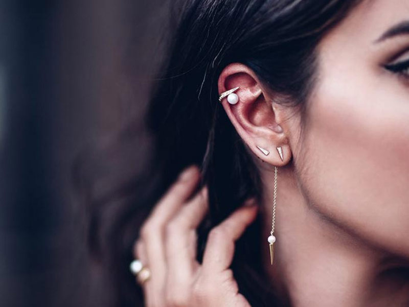 What are the must-see ear piercing trends this season