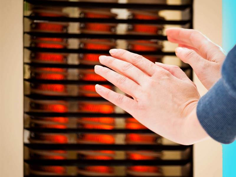 Why should you always avoid electric heater