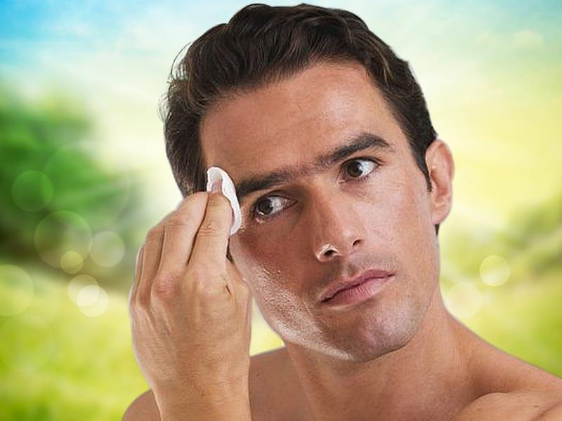 how you can wash your face with the help of oil instead of water
