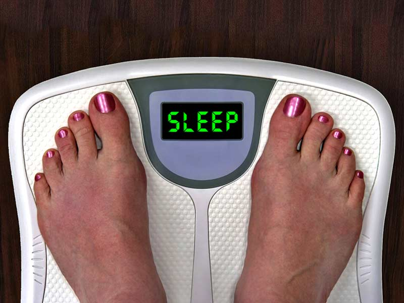 easy ways to lose weight before sleep