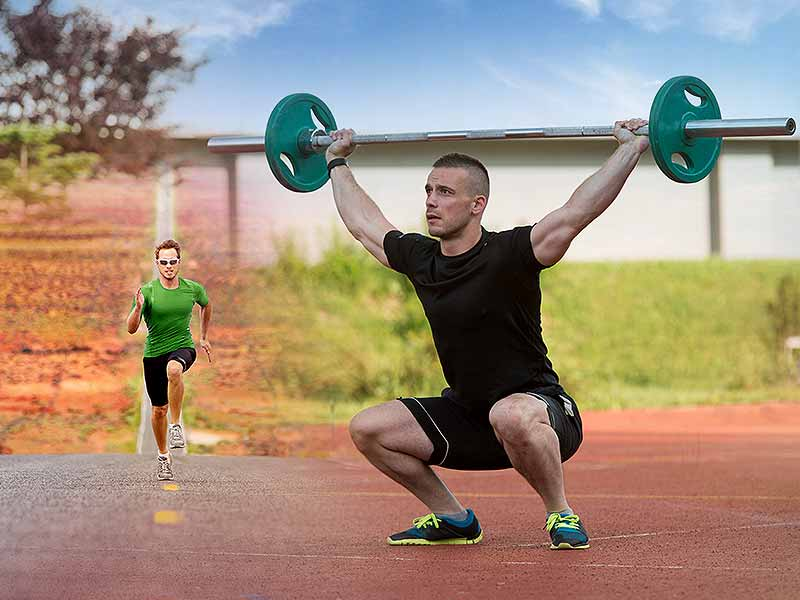 what are the benefits of practising cardio and weight lifting training together