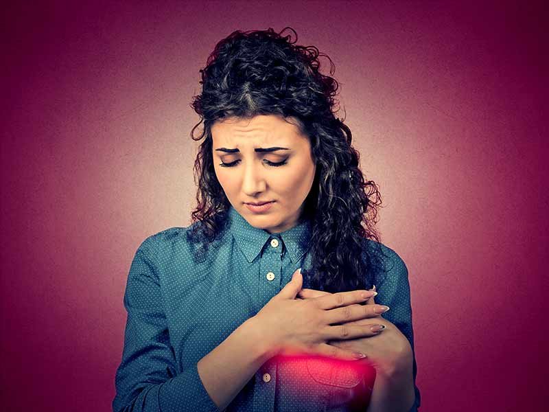 What are the causes of breast pain in women
