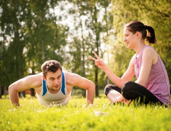 why you need a partner to workout