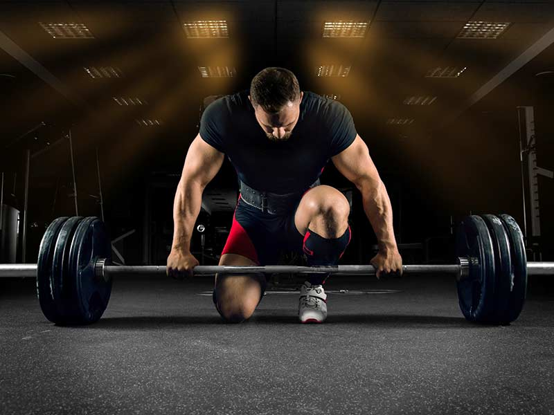 deadlift exercise properly
