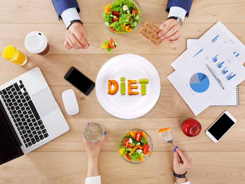 What is the perfect diet plan for a working person