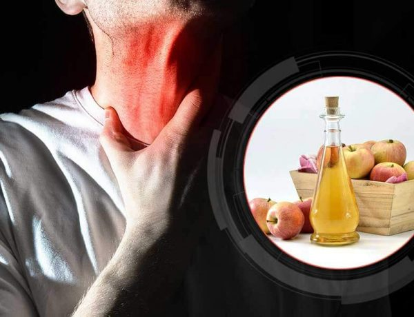 remove throat pain help apple vinegar