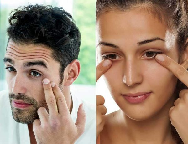 how to take care of your under eyes area