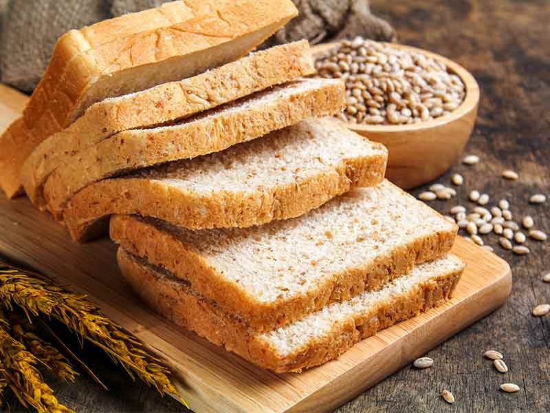Which bread is good for health : White bread or brown bread