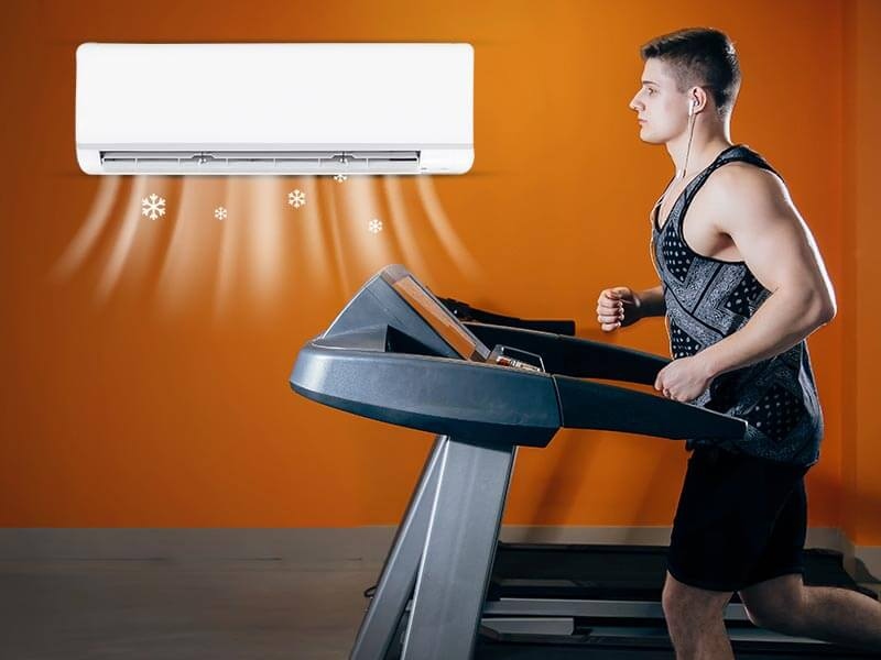 Why Should You Avoid Exercising In An Air Conditioned Gym or room