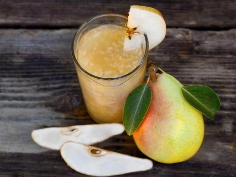health benefits of pears juice