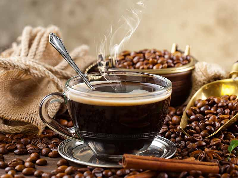 What are the health benefits of black coffee
