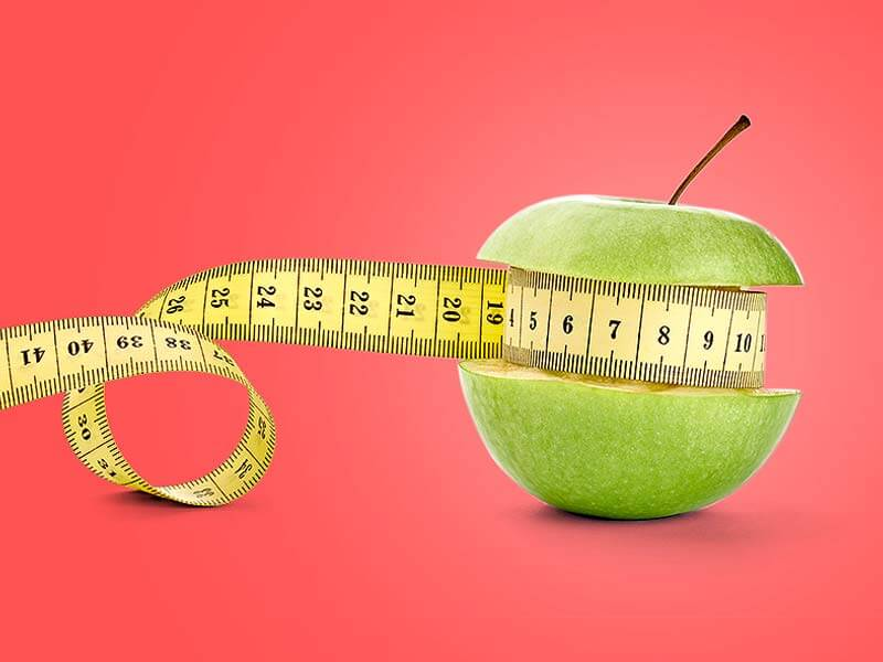 How to reduce the weight with the help of green apple
