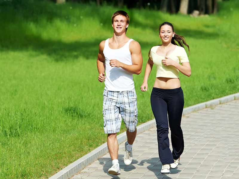 what are the health benefits of jogging