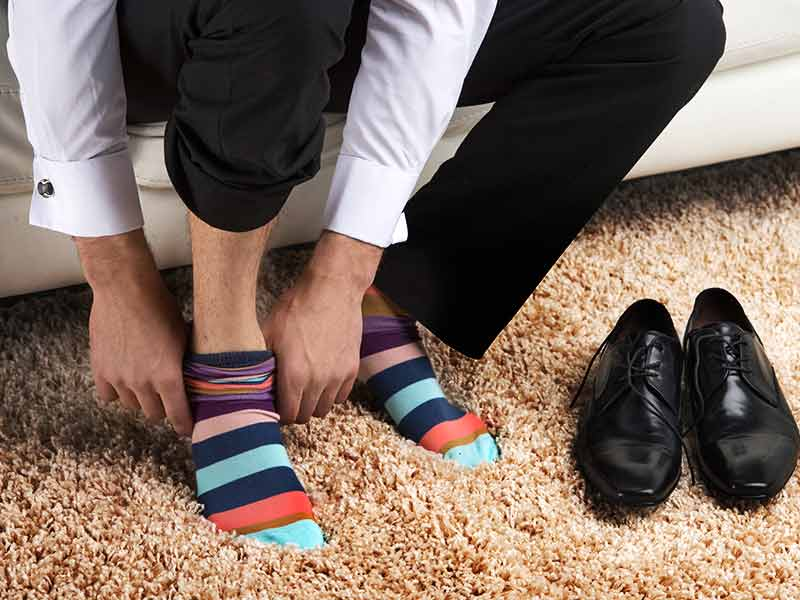 wearing tight socks can harmful