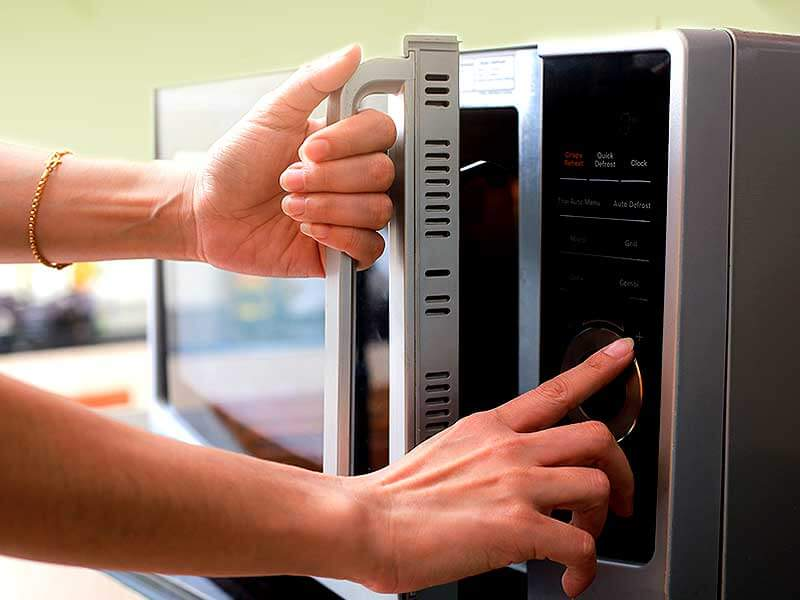Heating the food in the microwave can be harmful for health