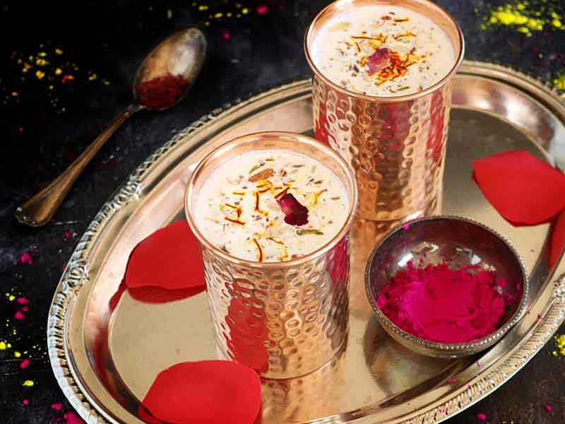 Holi 2018: amazing benefits of drinking thandai