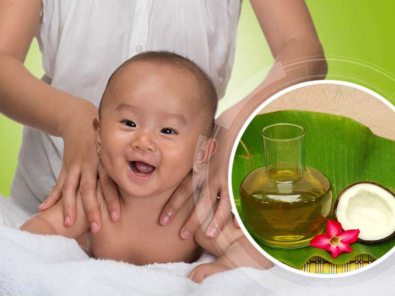 What Are The Usage of Coconut Oil For Baby