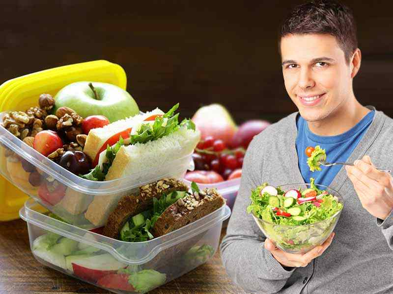What are the healthy food items which do not lead to weight gain