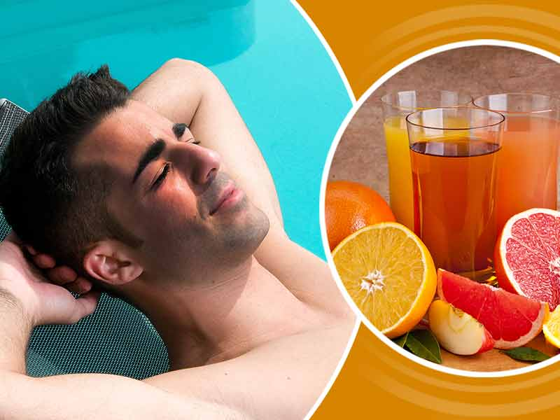 Best juices to remove tanning from the face and the body