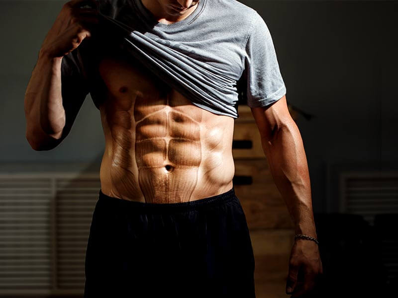 three day workout plan for shredded abs