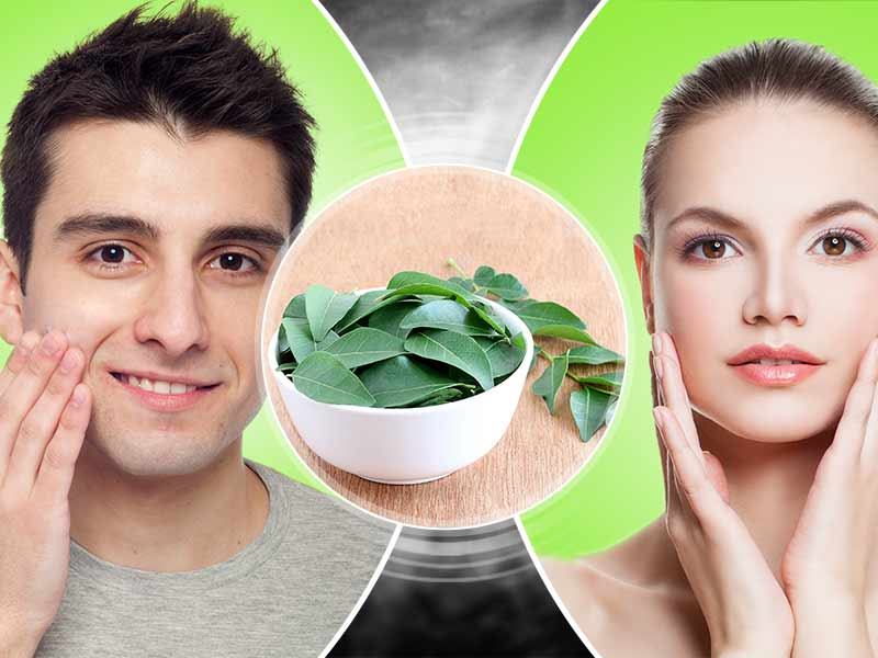 How to get an amazing skin using curry leaves